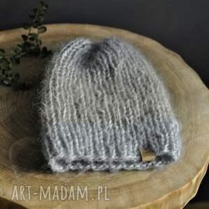 ciepła czapka mohair alpaca, czapka, nagłowę, nadrutach, nazimę