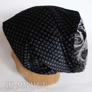 czapka aksamitna damska, aksamit, prezent, czapka, zimowa, rower, wyjątkowe
