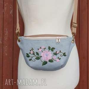 nerka mini kwiaty, nerka, vintage, torebka, saszetka, pastelowa