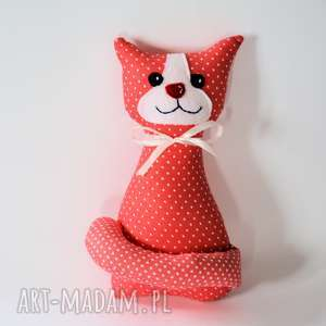 Kotek Miau - Lilka 25 cm, kot, kotek, maskotka, roczek, urodziny, dziecko