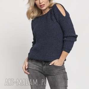 handmade swetry raglanowy sweter, swe176 jeans mkm
