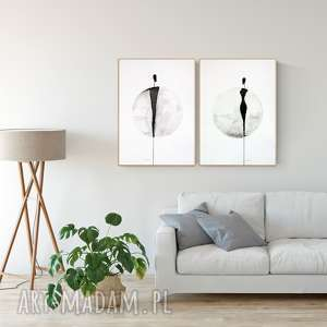 ART Krystyna Siwek: zestaw wykonany na zamówienie 2 sztuki 50