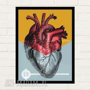 HALF HEART Plakat 30x40 , plakat