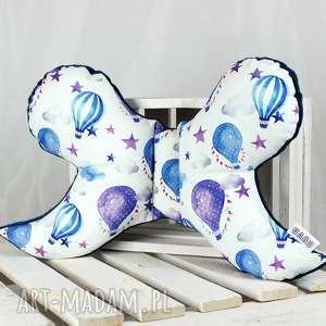 pokoik dziecka motylek- poduszka antywstrząsowa balony