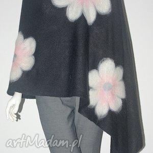 handmade szaliki filcowany szal
