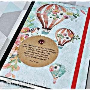 handmade scrapbooking notesy kalendarz 2020 dla marzycielki