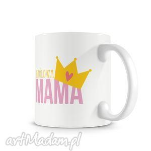 kubek - królowa mama, kubek, prezent, święta, kawa, herbata dom, pod choinkę
