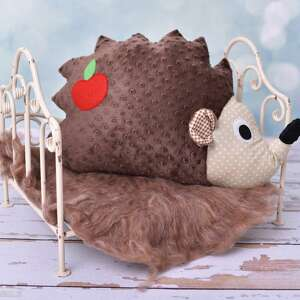 poduszka dziecięca jeż, poduszka-jeż, poduszk-ozdobna, jeż-hand-made