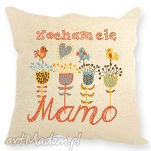 Prezent Poduszka dekoracyjna ,, Kocham Cię Mamo , mama, dzieńmamy, prezent, poduszka