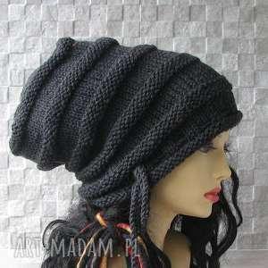 Super slouchy oversize dla osób z dredami na zamówienie czapki