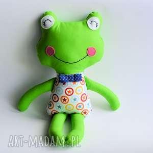 maskotki żabka - elegant filip 46cm, żabka, chłopczyk, maskotka, przytulanka