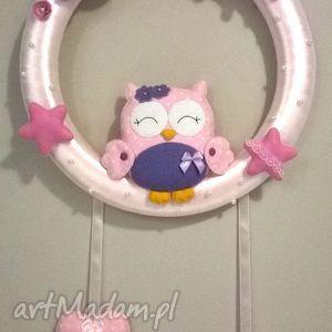 personalizowana girlanda z imieniem dziecka - girlanda, dziecko, dekoracja, prezent, filc