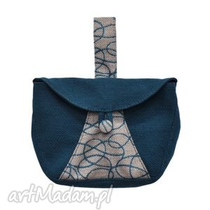 04-0006 turkusowa torebka kopertówka elegancka do ręki cuckoo, oryginalne