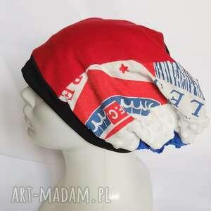 handmade czapki czapka damska dzianina codzienna na podszewce rozmiar uniwersalny - box