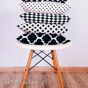 komplet poduszek skandynawskich 5 sztuk - ,jasiek,40x40,bawełna,poduszka,poduszki,komplet,