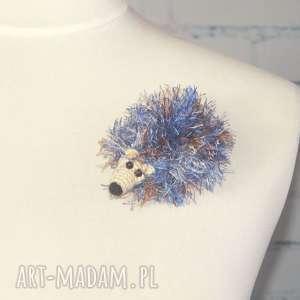 broszki brat adama jeża - aleksander, jeż, kolce, prezent, jeżyk, zwierzęta