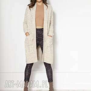 LANTI urban fashion: Swetrowy płaszcz z kieszeniami swe139