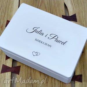 Ślubne pudełko na koperty Personalizowane Kopertówka, ślub, wesele, przechowywanie
