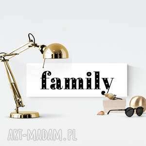 podŚwietlany napis family prezent obraz dekoracja - rodzina, family, dekoracja