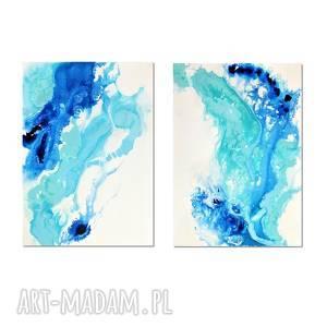acqua di follia 13, abstrakcja, nowoczesny obraz ręcznie malowany