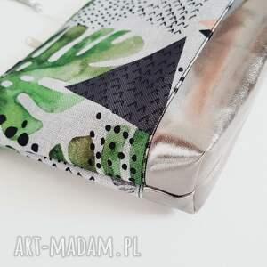 listonoszka monstera - hand-made
