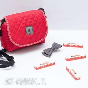 torebka dla dziewczynki 251 sweet love czerwona, torebeczka, dziecinna, urocza