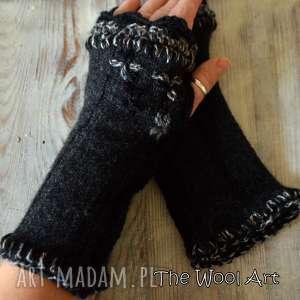 rękawiczki mitenki - rękawiczki, mitenki, naręce, naprezent