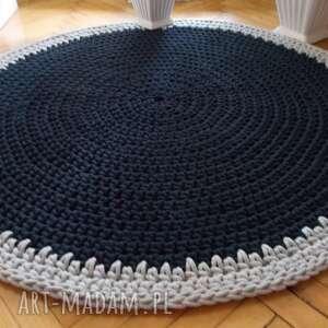 dywan marcus 120 cm na zamówienie, ze sznurka, z bawełny