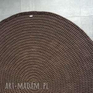 DYWAN ZE SZNURKA BAWEŁNIANEGO 80 CM GRAFITOWY, dywan, chodnik, sznurek, bawełna