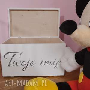 Prezent Skrzynia na zabawki Personalizowana, skrzynia-na-zabawki, skrzynie-na-zabawki