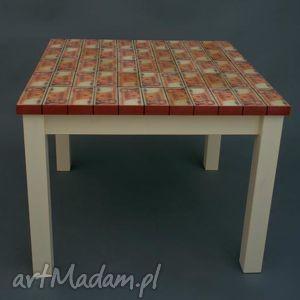 ręcznie robione stoły czar prl-u