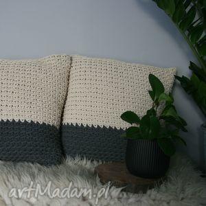 zestaw poduszek scandi, poduszki, jaśki