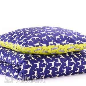 pościel dziecięca z kołderką 110x125cm i poduszką 50x60cm dalmatyńczyki