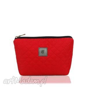 kosmetyczka simple 180 czerwona, simple, modna