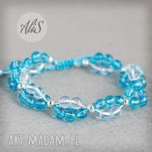 Niebieskie szkło - hand-made