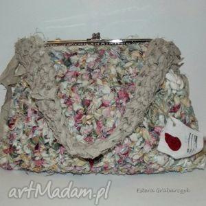 handmade kolorowy len