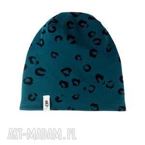 Zimowa czapka cętki cudi kids czapka, zimowa, ciepła, cętki,
