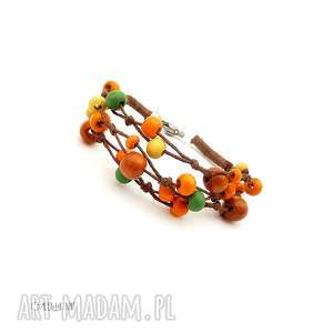 Słoneczna jesień bransoletka galeria nuit kolorowa, jesienna