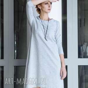 ręcznie zrobione sukienki grunge sukienka dresowa