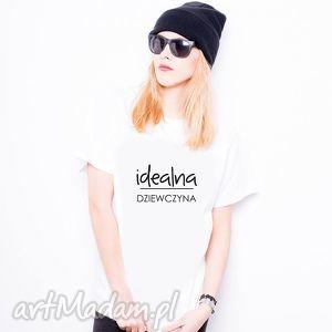 Koszulka damska Idealna Dziewczyna, preznet, śmieszne