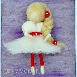 wróżka balerina tańcząca wśród lawendy obraz dekoracyjny, lawenda, dziecko