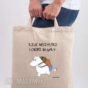 TailorMade Licencjonowana torba Muminki Rrzuć wszystko i chodź