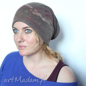 czapka dresowa kiedy wpadnę za łózko dobij mnie poduszką , czapka, damska, wiosna