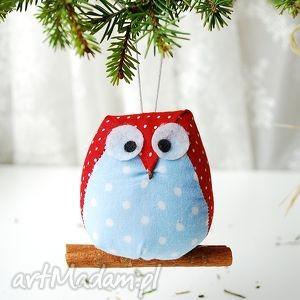 pomysł na świąteczny prezent Sowa, sowa, sówka, dekoracja, bombki, choinkę, boże