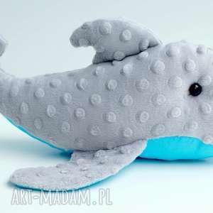 DELFIN MASKOTKA PRZYTULANKA, delfin, minky, przytulanka, zabawka, rybka, niemowlę