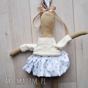lalki pani królik, przytulanka, szmacianka, prezent, dla, dziewczynki, choinkę