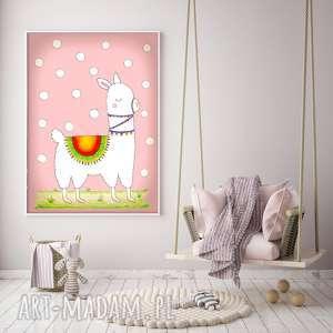 Lama a3 pokoik dziecka malgorzata domanska plakat, ilustracja