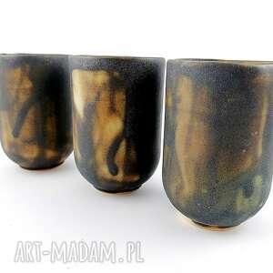 polepione ceramiczne czarki - 3 szt, czarka, kawa, prezent, filiżanka