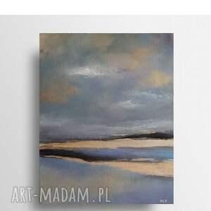 morze ii-obraz akrylowy formatu 33/41 cm, pejzaż, obraz, morze, akryl
