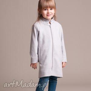 Płaszczyk jesienny dla dziewczynki !, płaszczyk, zamszowy, jesienny, chabrowy